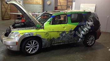 Vip Wraps Best Commercial Vehicle Wraps  Custom Business - Custom vinyl sign graphics   removal options